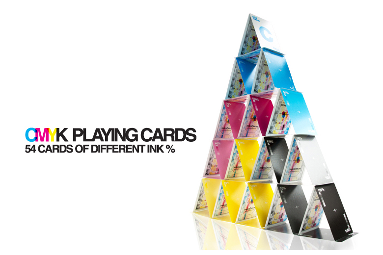 CMYK Playing Cards for Graphic Designers - 1