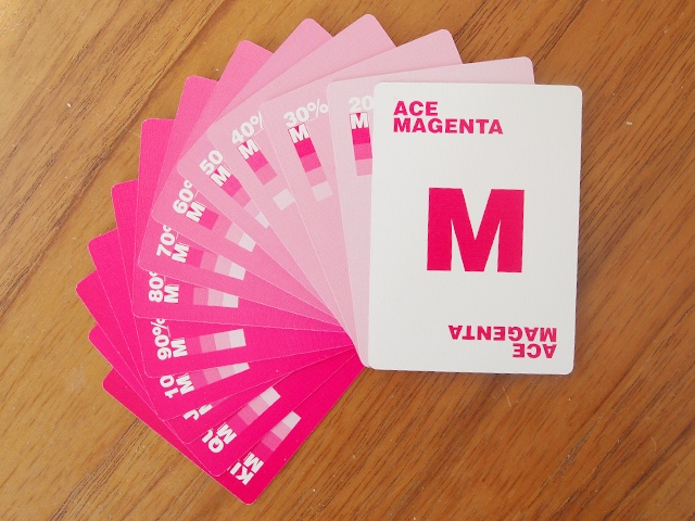 CMYK Playing Cards for Graphic Designers - 10