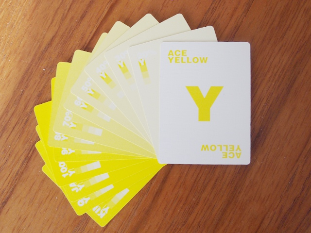 CMYK Playing Cards for Graphic Designers - 12