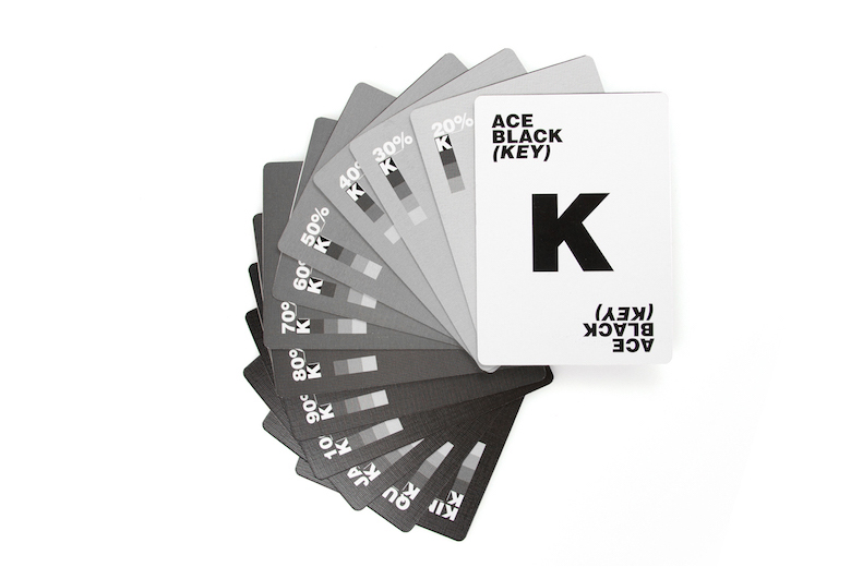 CMYK Playing Cards for Graphic Designers - 4