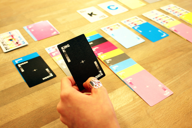 CMYK Playing Cards for Graphic Designers - 6
