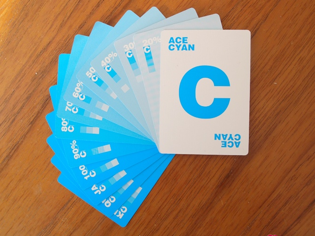 CMYK Playing Cards for Graphic Designers - 9