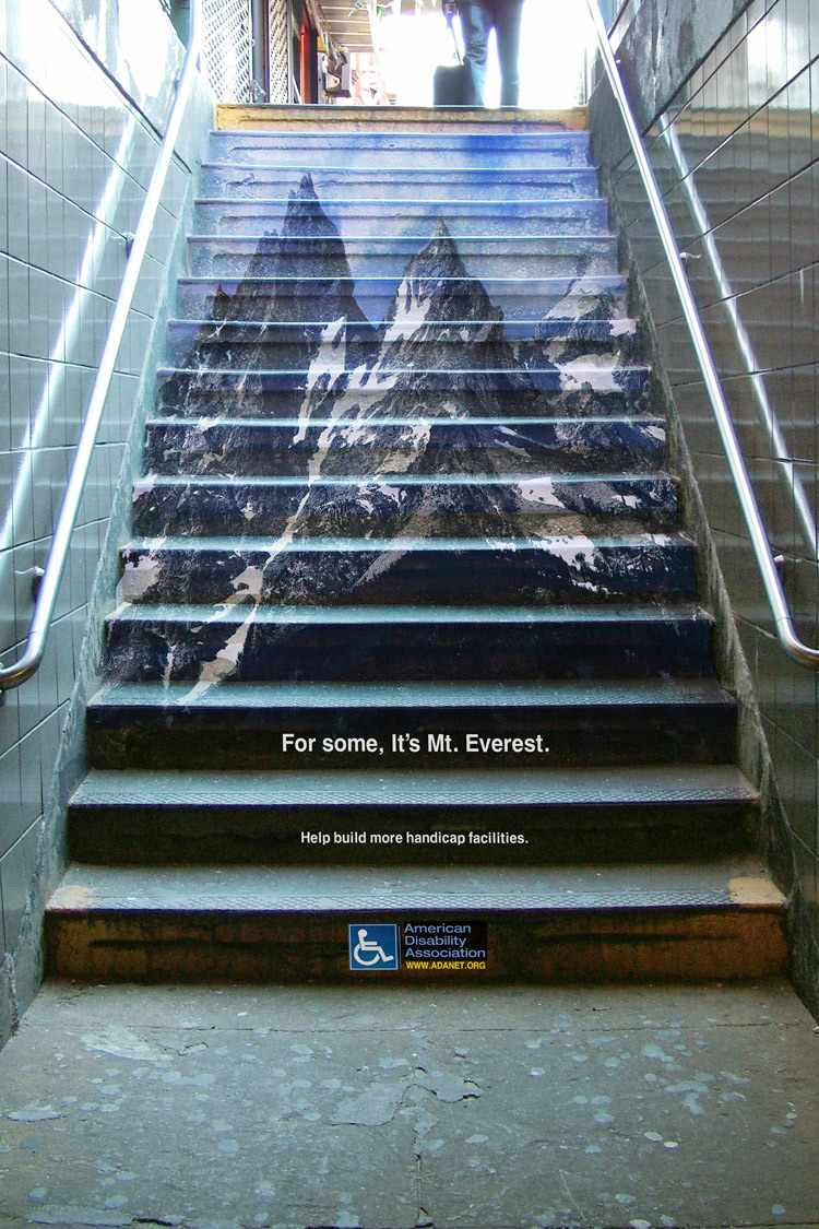 American Disability Association - For some, it's Mt. Everest.