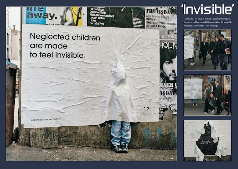 Australian Childhood Foundation - Neglected children are made to feel invisible.