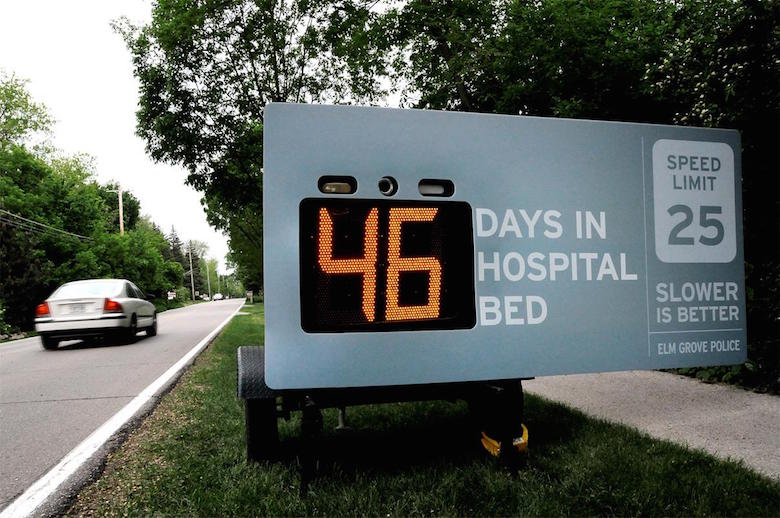 ELM Groove Police - Days in hospital bed (Slower is better)