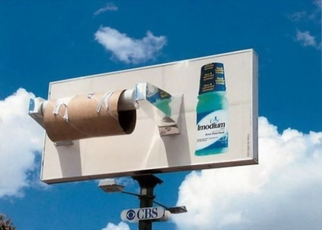 Imodium - Toilet roll