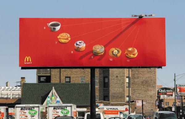 McDonald's - Sundial Billboard