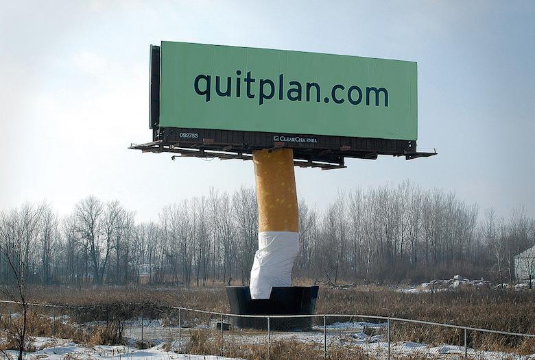 QuitPlan - Big Cigarette Butt
