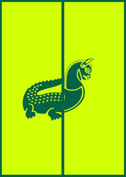 Logomorphia: Mashups of famous logos - Lacoste / Iran Air