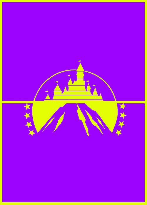 Logomorphia: Mashups of famous logos - Disney Pictures / Paramount Pictures