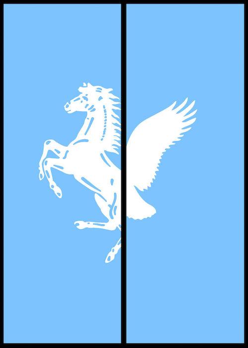 Logomorphia: Mashups of famous logos - Ferrari / American Eagle