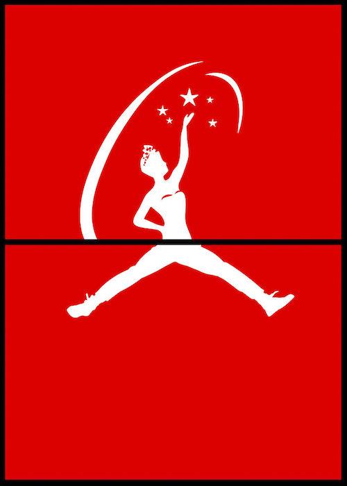 Logomorphia: Mashups of famous logos - Miss Universe / Air Jordan