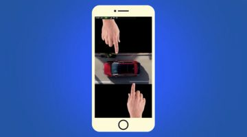 Ford Cleverly Demonstrates Its Blind Spot Sensor Using Vertical Video