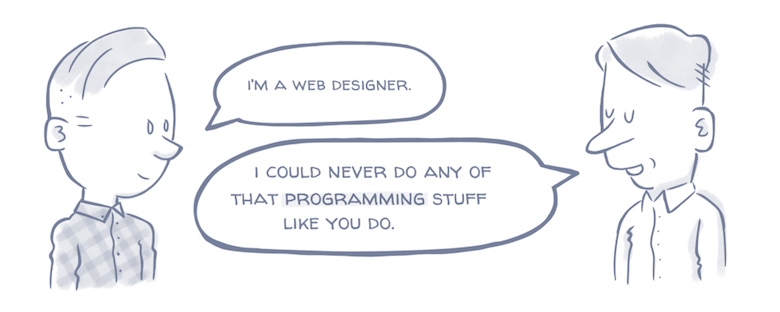 What Your Relatives Think When You Tell Them You're A Designer - The Mistaken Developer