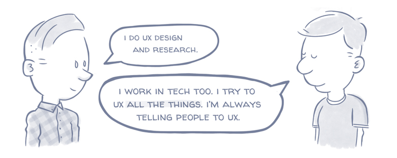 What Your Relatives Think When You Tell Them You're A Designer - Almost But Not Quite