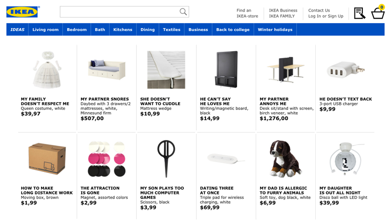 Bogenle Ikea ikea renamed its products after common searches about