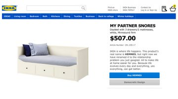 IKEA Renamed Its Products After Common Google Searches About Relationship Problems