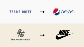 The Original Names And Logos Of 12 Famous Companies