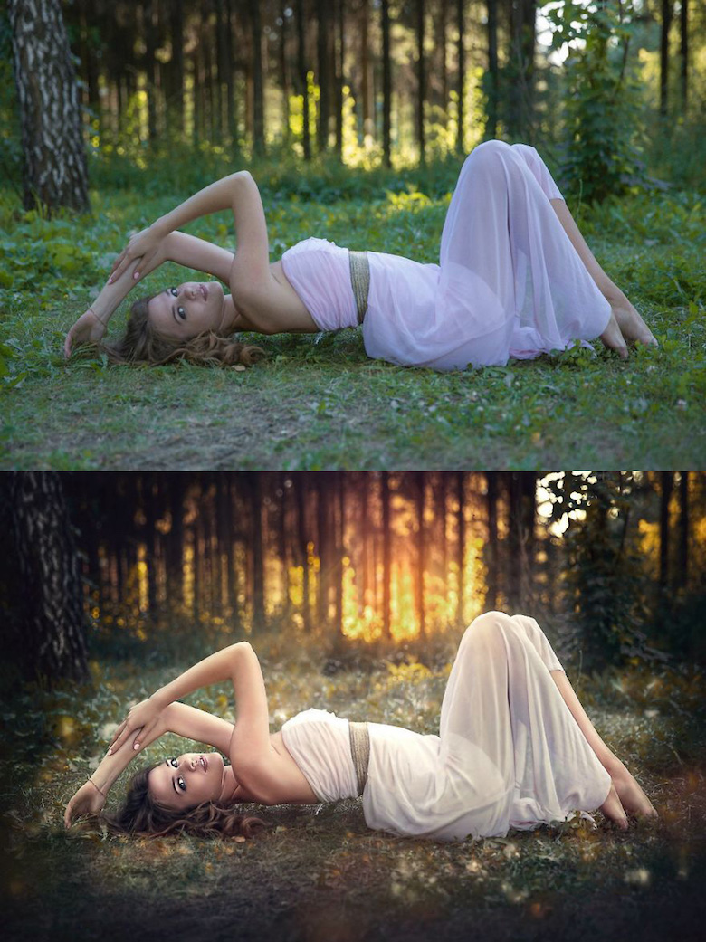 Before and after Photoshop pictures - 24