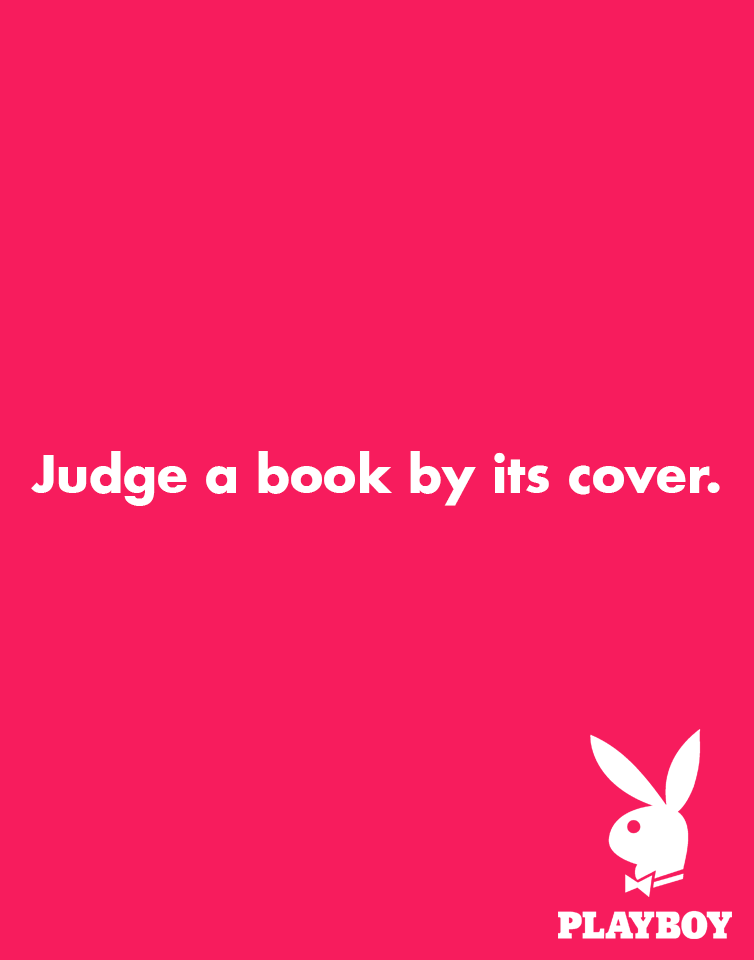Creative Print Ads, 365 Day Copywriting Challenge - Playboy