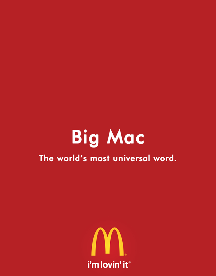 Creative Print Ads, 365 Day Copywriting Challenge - McDonald's