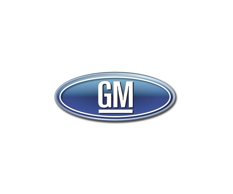 Combined logos of famous brands: GM / Ford