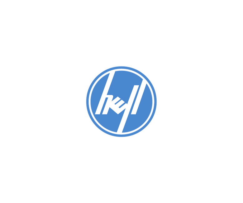 Combined logos of famous brands: Hewlett-Packard / Dell
