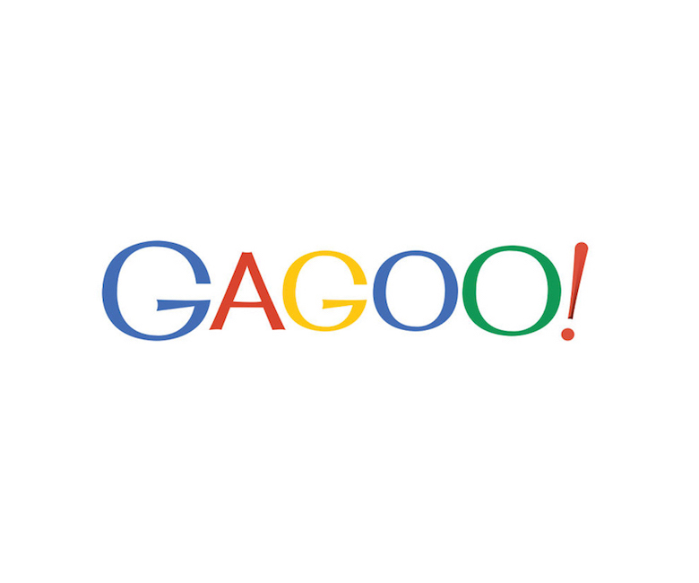 Combined logos of famous brands: Google / Yahoo!
