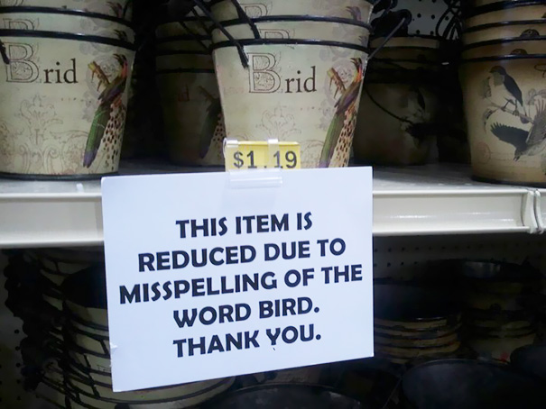 Funny spelling mistakes - 24