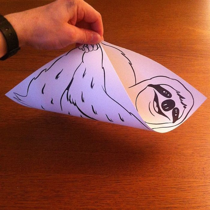 3D paper folding art and drawings by HuskMitNavn - 43