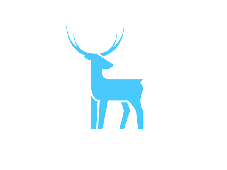 Animal Logo - Deer