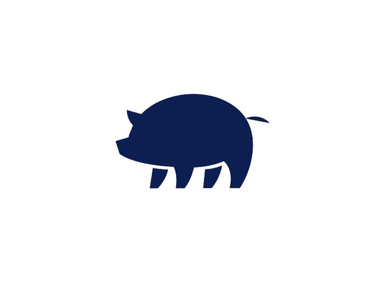 Animal Logo - Pig