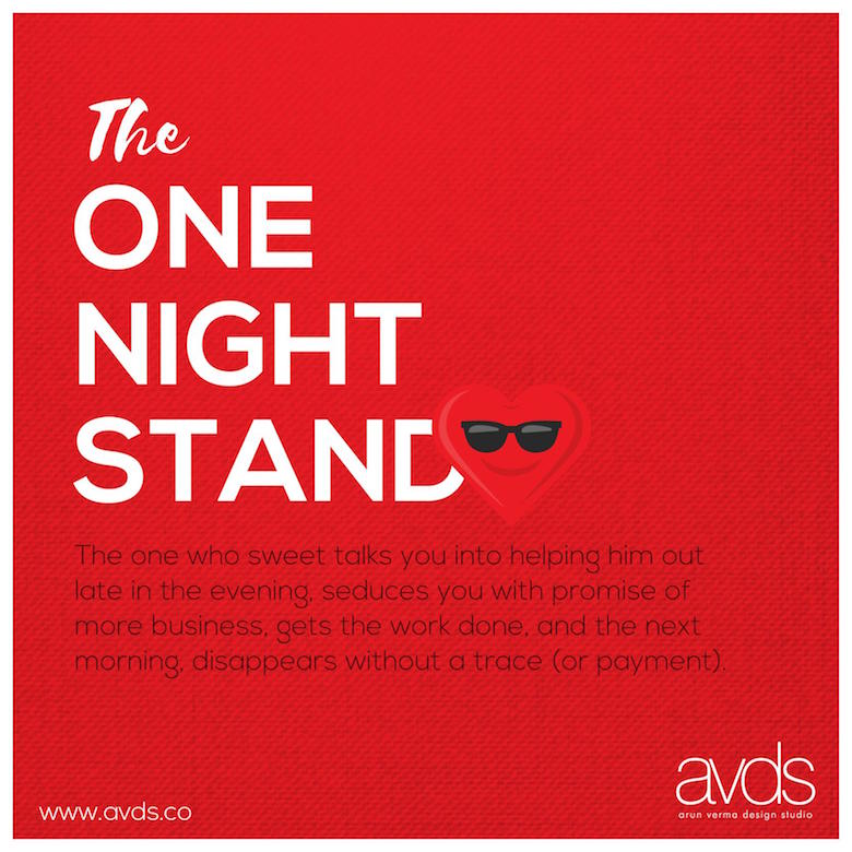 Client Agency Love-Hate Saga - The One Night Stand