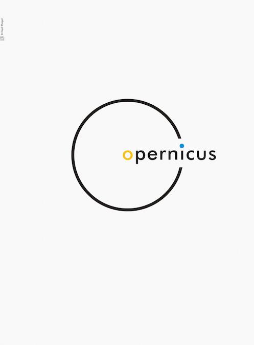 Creative Typographic Science Posters - Copernicus