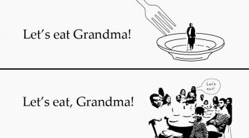 10 Hilarious Examples Of How Punctuation Makes A Big Difference