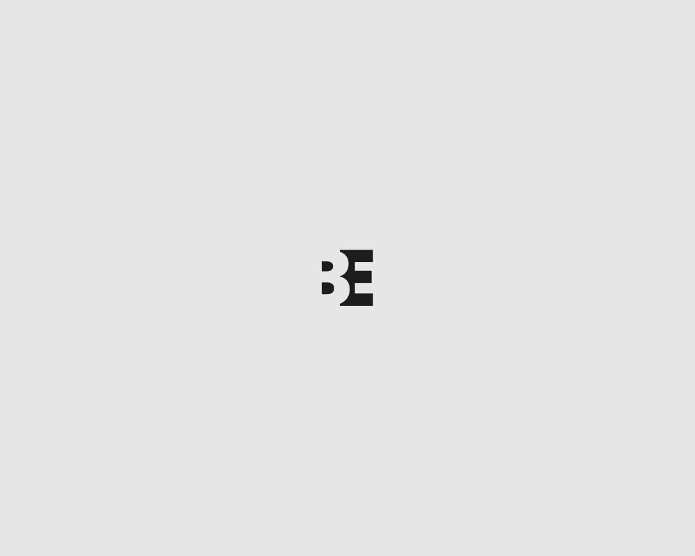 Logos of common english verbs - Be