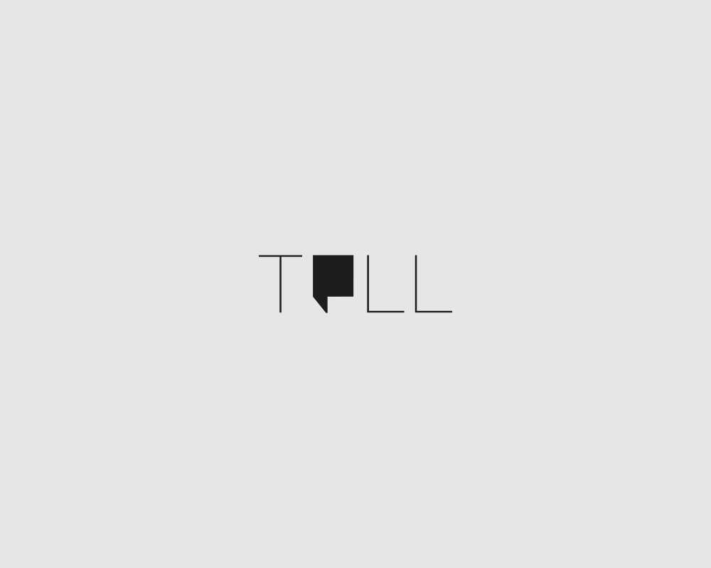 Logos of common english verbs - Tell