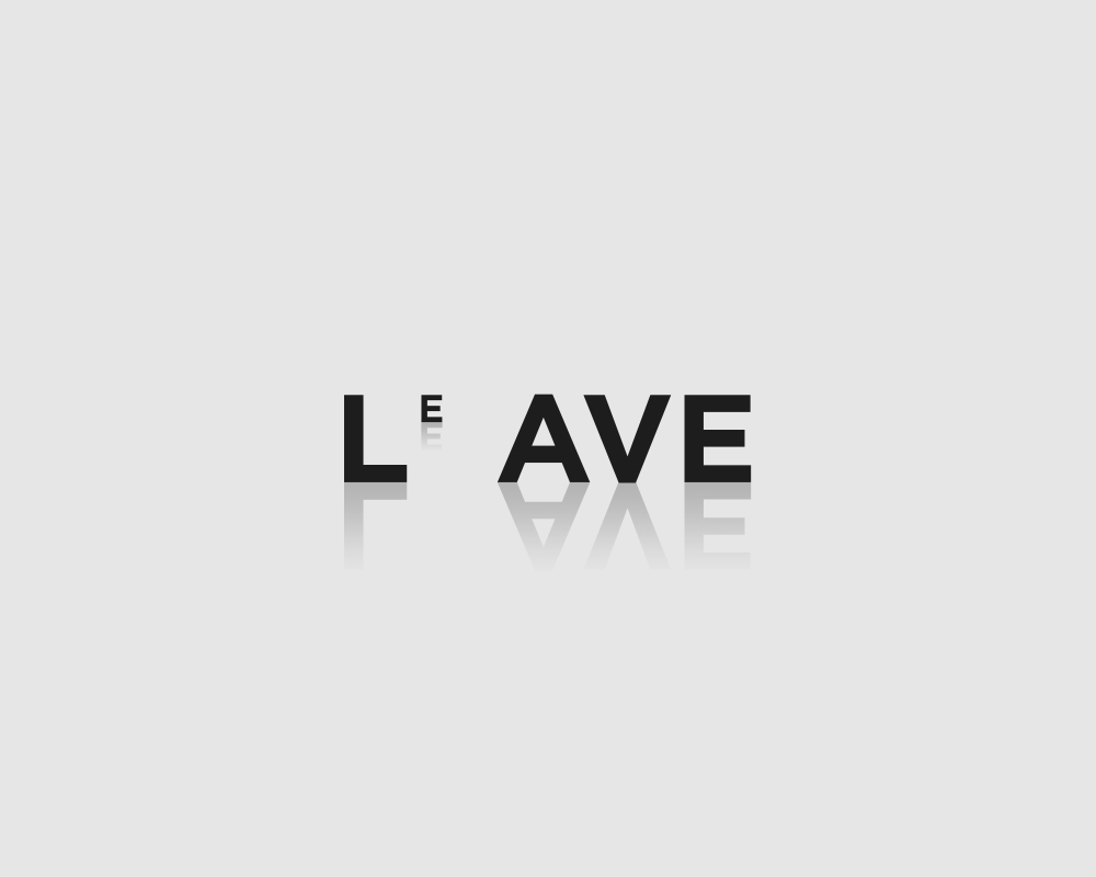 Logos of common english verbs - Leave