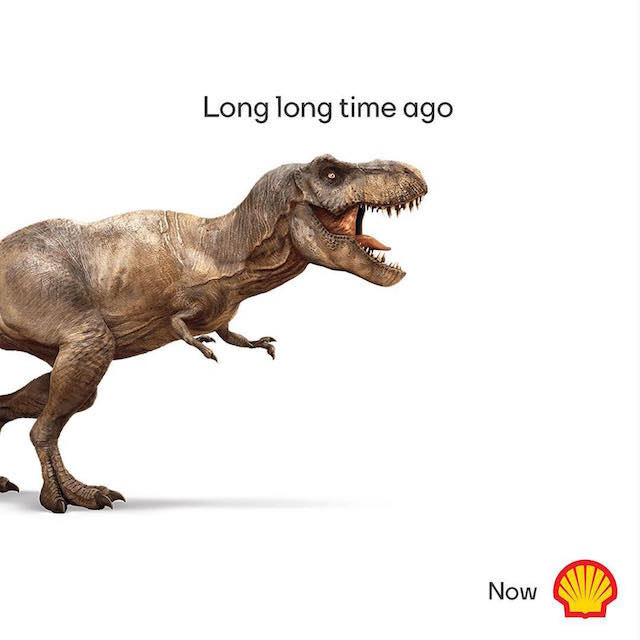 Creative Print Ads, 365 Day Copywriting Challenge - Shell