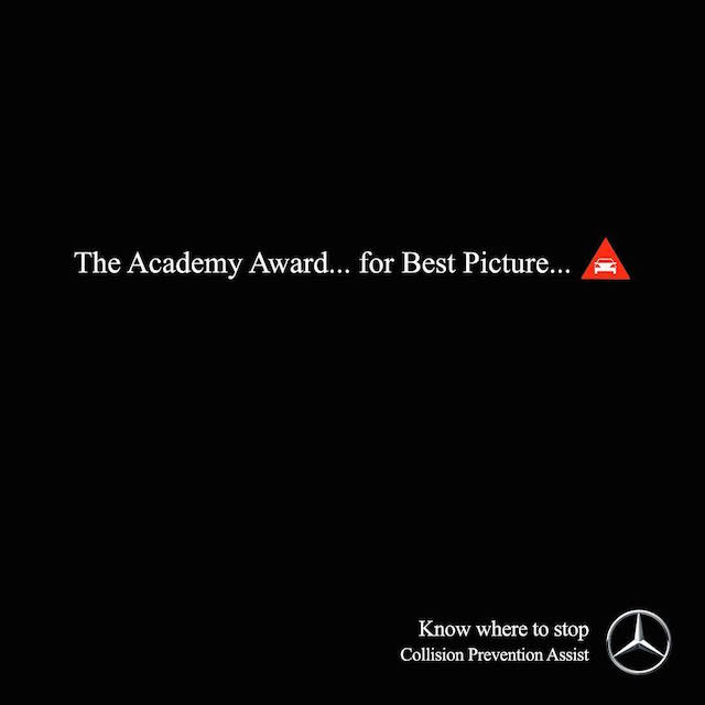 Creative Print Ads, 365 Day Copywriting Challenge - Mercedes-Benz