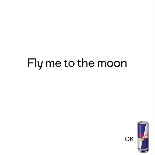 Creative Print Ads, 365 Day Copywriting Challenge - RedBull