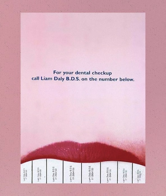 Clever Tear-Off Ads - Liam Daly: Dental Practitioner
