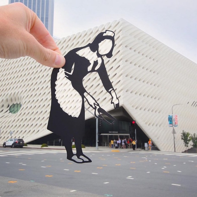 Paper Cutouts On Famous Landmarks - 3