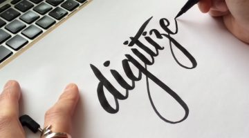How To Convert Your Hand Lettering From Paper To Digital In Adobe Illustrator