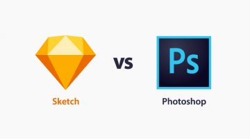 Sketch vs. Photoshop