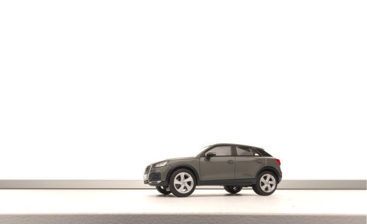 Audi Q2: Miniature scale model car photography - 8
