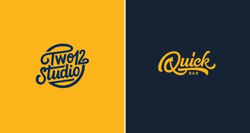 Smooth, Clean Animations Of Beautiful Hand-Lettered Logos For Design Inspiration