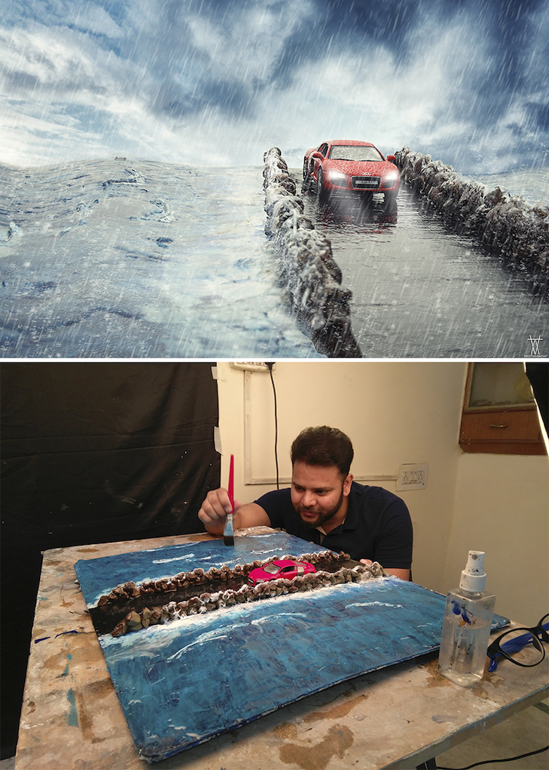 Miniature photography, small-scale landscape models - 1