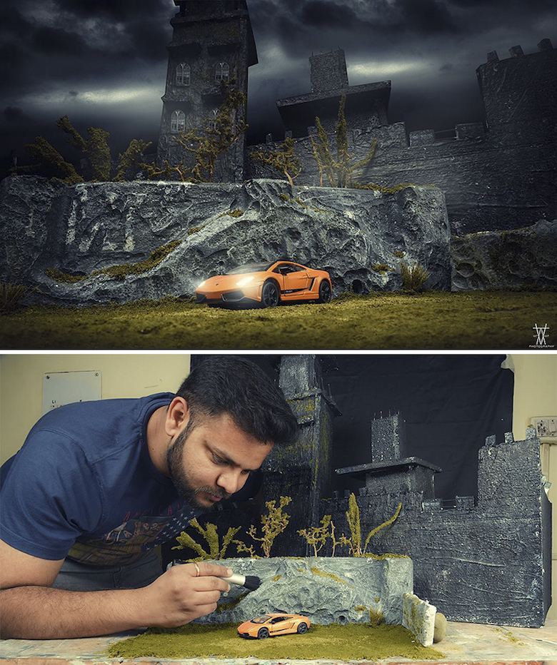 Miniature photography, small-scale landscape models - 17