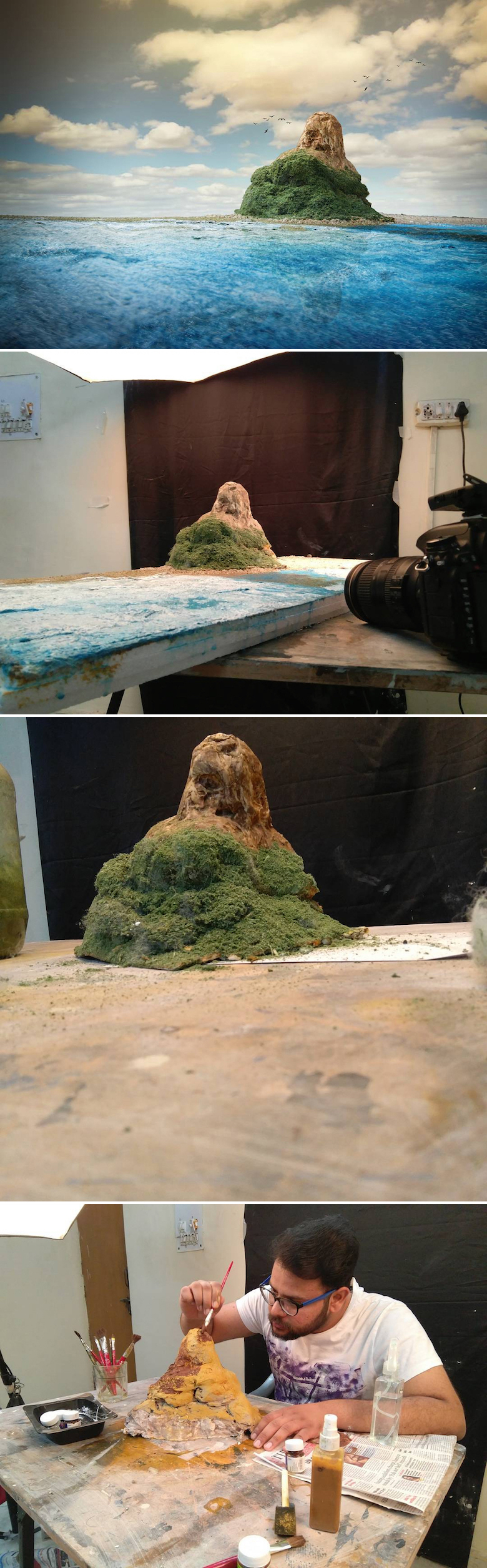 Miniature photography, small-scale landscape models - 25